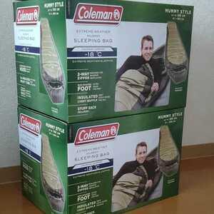 コールマン マミー型 寝袋 シュラフ ノース リム 2個セット