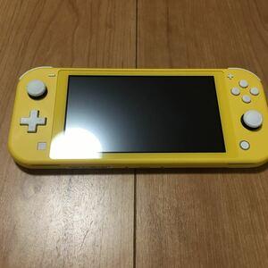 Nintendo Switch Lite イエローe
