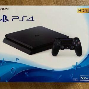 プレイステーション4 PS4 本体 PlayStation4 ジェット・ブラック 500GB CUH-2200AB01