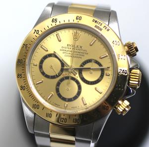 【ROLEX】ロレックス コスモグラフ デイトナ 16523 ゴールド S番 自動巻き 腕時計
