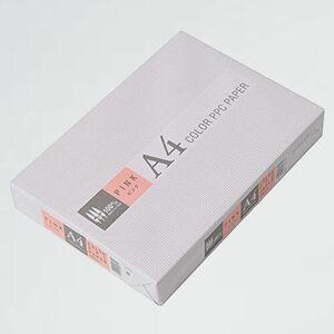 好評 新品 カラ-コピ-用紙 APP F-RI 紙厚0.09mm 500枚 A4 ピンク