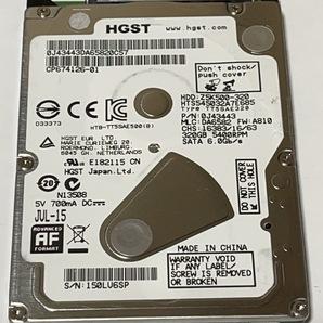 2.5インチ HGST HTS545032A7E685 320GB 101721