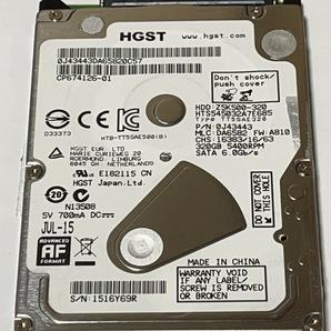2.5インチ HGST HTS545032A7E685 320GB 101722