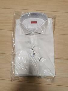 新品 2020SS イザイア ISAIA ドレスシャツ 42 ホワイト白青 シャツ エストネーション六本木ヒルズ店購入 国内正規品