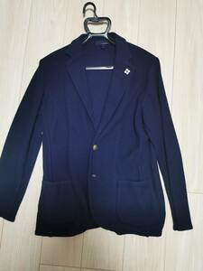 新品 LARDINI ラルディーニ ニットジャケット M ネイビー 紺 2020年六本木エストネーション購入 リデア正規品