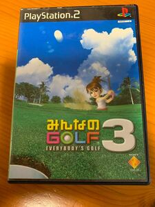 【PS2】 みんなのGOLF3