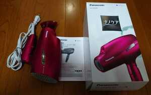 即決!送料無料!Panasonic パナソニック ヘアドライヤー ナノケア EH-CNA99 ルージュピンク 箱付き スカルプ