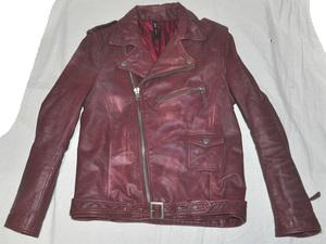 glamb グラム ライダースジャケット 赤 (ワインレッドに近い感じです)
