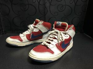 NIKE DUNK HIGH LA CLIPPERS WHITE RAPID BLUE RED [305287-141]