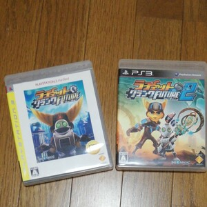 PS3ソフト ラチェット&クランク FUTURE1&2 2枚セット