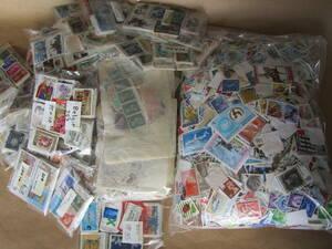 ★使用済み外国切手 60サイズ 同じ柄が多いです★