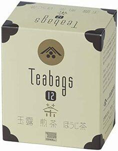 一保堂茶舗 ティーバッグセット12(各4袋)