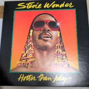 LPレコード ホッターザンジュライ Stevie Wonder