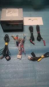 NR-MZ50N 三菱 2013年地図 フルセグTV BluetoothAudio SD CD録音 メモリーナビ アンテナ付属 即決