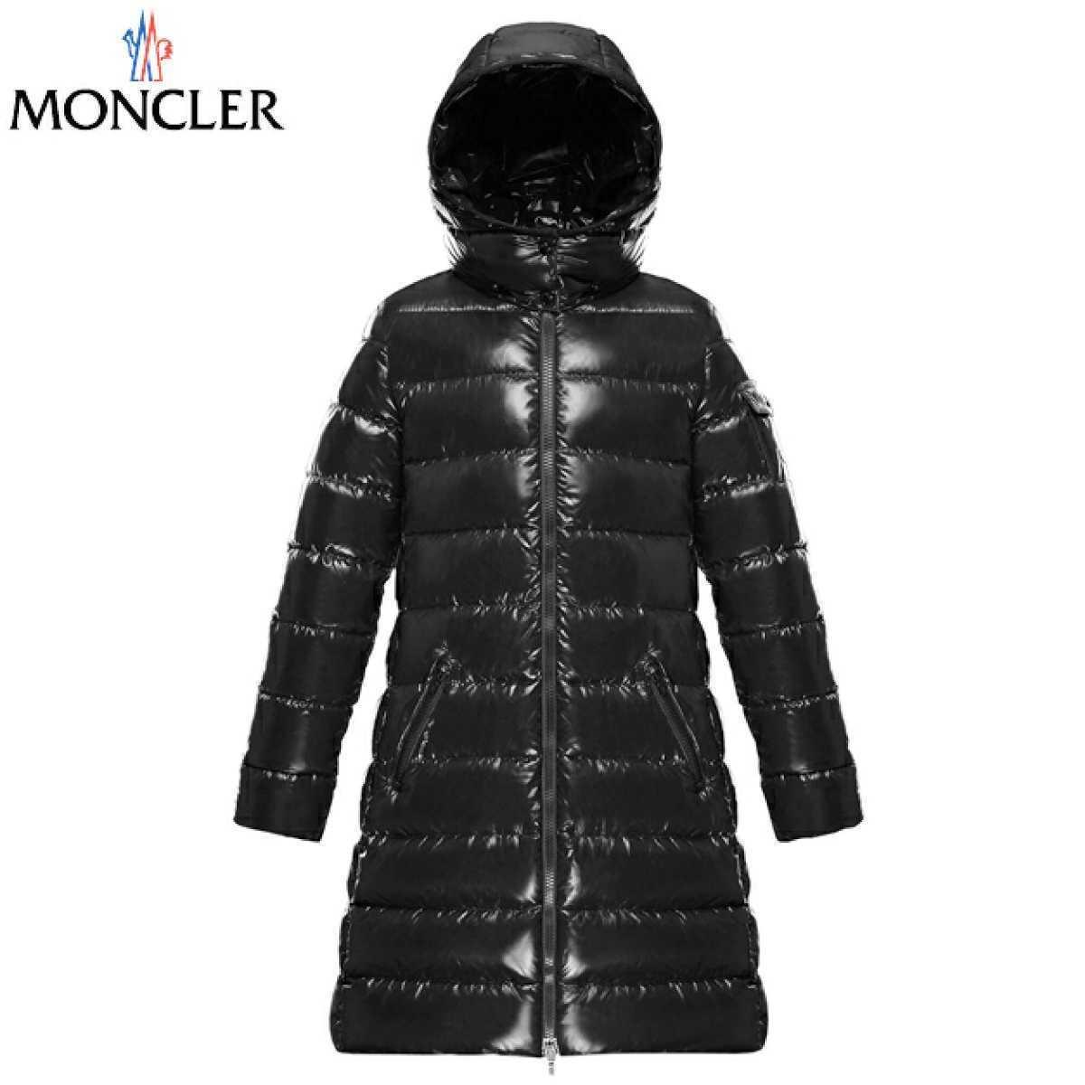 新品 MONCLER モンクレール MOKA モカ ダウンジャケット コート 黒 10A 140cm 大人にも