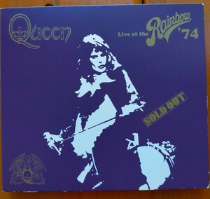 QUEEN  LIVE at Rainbow 74