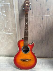 【中古】エレアコギター エレアコ ARIA 楽器(192)