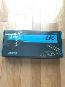 audison LRx6.9 正規品(おまけつき) 車載アンプ ☆中古超美品☆動作確認済み☆
