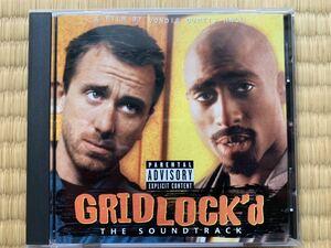 輸入版CD★廃盤★GRIDLOCK'd「グリッドロック」映画オリジナルサウンドトラック★ティム・ロス★2PAC
