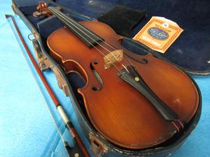 SUZUKI 鈴木 バイオリン 1/2 1887 弦楽器 ケース付 管理tr1007g