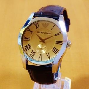 ARMANI エンポリオ アルマーニ スモールセコンド AR0645 正規品 腕時計