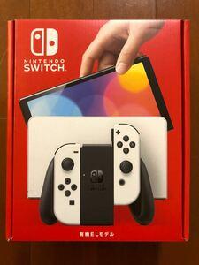 Nintendo Switch 本体 有機EL ホワイト ニンテンドースイッチ ネオンレッド 新型 保証有 10/24