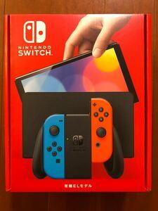 Nintendo Switch 本体 有機ELモデル ネオンカラー ニンテンドースイッチ ネオンレッド 新型 保証有 10/24