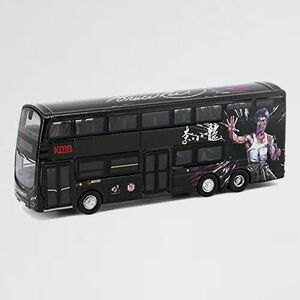 好評 新品 City Tiny 4-V3 ブルース・リー (黒) 香港KMB 二階建てバス ボルボB9TL キャンター