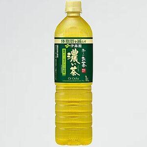 新品 未使用 伊藤園 [機能性表示食品] J-GJ スリムボトル 1000ml×12本 お-いお茶 濃い茶
