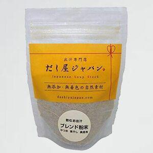 好評 新品 飲むお出汁 だし屋ジャパン 1-6S 国産 (60g/スタンドパック) かつお節 煮干し 真昆布 無添加 うま味 粉末だし 割合