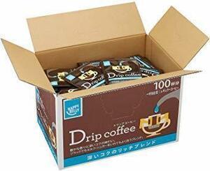超安値![Amazonブランド]Happy Belly ドリップコーヒー 深いコクのリッチブレンド 100P UCC製4OQI