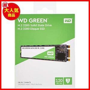 WD 内蔵SSD M.2-2280 / 120GB / WD Green / SATA3.0 / 3年保証 / WDS120G2G0B
