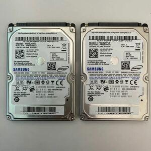 HDD 2.5インチ 320GB 2個セット