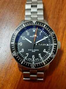 定価22万!FORTIS フォルティス B-42 コスモノート 647.10.158.3 機械式 腕時計 オートマチック デイデイト