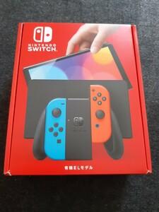 ニンテンドースイッチ Nintendo Switch 有機EL ネオンブルー ネオンレッド 新品 送込み