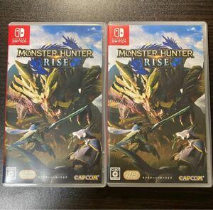 【Switch】 モンスターハンター ライズ モンハン monster hunter rise 2本