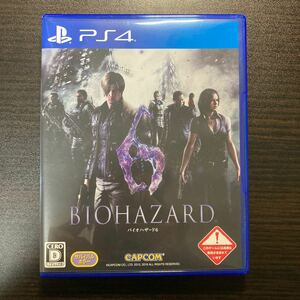 PS4 バイオハザード6 BIOHAZARD6