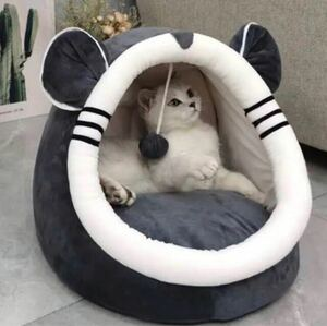 ペット ベッド ドーム型猫 ハウス 犬ハウス 犬猫兼用 小型犬 ふわふわ