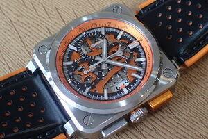 ベル&ロス エアロGT オレンジ BR03-94-SC-ORA
