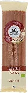 500グラム (x 1) ALCE NERO(アルチェネロ) 有機 全粒粉 スペルト小麦 スパゲッティ 500g (オーガニック