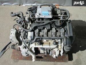 保証付 VW フォルクスワーゲン純正 1K GOLF ゴルフ 5 GTI 6MT 6速 エンジン 原動機 マニュアルトランスミッション付 走行約85000km