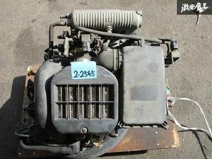 保証付 スズキ純正 MC21S ワゴンR K6A ターボ 5MT 5速 エンジン 原動機 本体 ECU付 走行約10万km 即納
