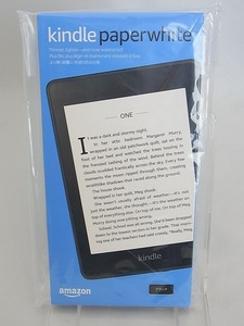 新品 未使用 Kindle Paperwhite キンドル ペーパーホワイト 第10世代 wifi 32GB ブラック 防水機能搭載 広告つき 電子書籍リーダー