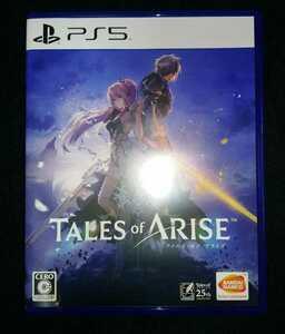 中古PS5ソフト TALES of ARISE テイルズオブアライズ 特典未使用
