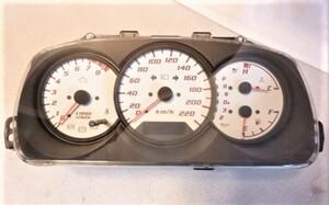 YRV ターボR M201G メーター 220km表示 ホワイトパネル 83100ー97401 希少 L880Kコペンなどに?◆