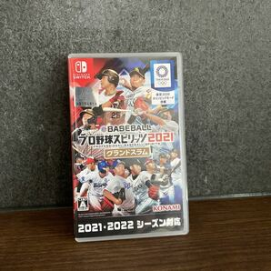 【Switch】 eBASEBALL プロ野球スピリッツ2021 グランドスラム プロスピ2021