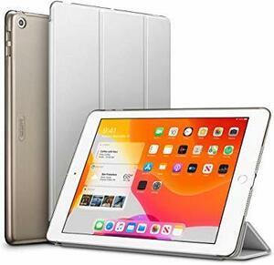 ★2時間セール価格★半透明_グレー ESR iPad 10.2 ケース 第7世代 2019モデル クリア 薄型 軽量 傷防止 オ