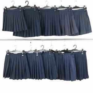 1円 スカート 11枚セット 制服 大量 まとめ売り 詰め合わせ 学生 AX0787