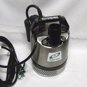 ツルミ 100V 60Hz用 口径50mm 自動式 水中ポンプ LB-480A SUS-61