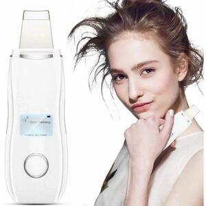 ウォーターピーリング 美顔器 超音波 スマートピール ピーリング イオン導入 イオン導出 EMS微電流 洗顔器